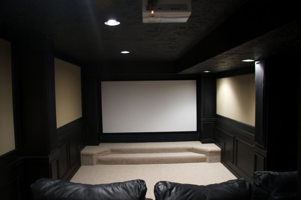 show us your screen walls page 12 avs forum home theater discussions and reviews theater. Black Bedroom Furniture Sets. Home Design Ideas