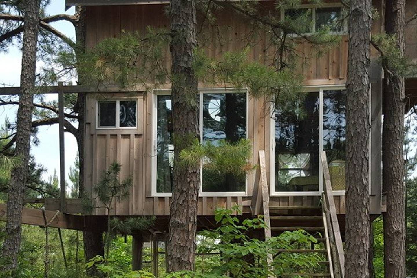 Top 20 Cozy Treehouse Tiny House 2 Story Farm Fun