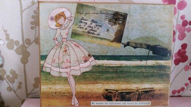 Prima dolls - Wish you were here canvas...
