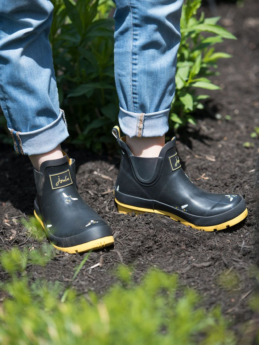 Women S Joules Short Rain And Gardening Ankle Boots Gardeners