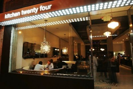 Kitchen Is Twenty Four Is A 24 Hour Diner Bar On Cahuenga