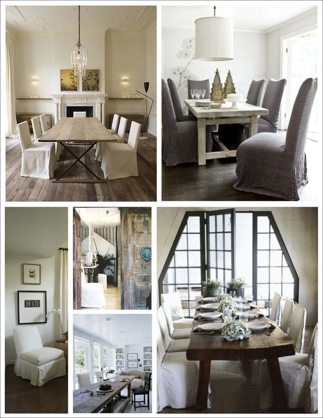 Room · Skirted Parsons Chairs Dining Room Furniture