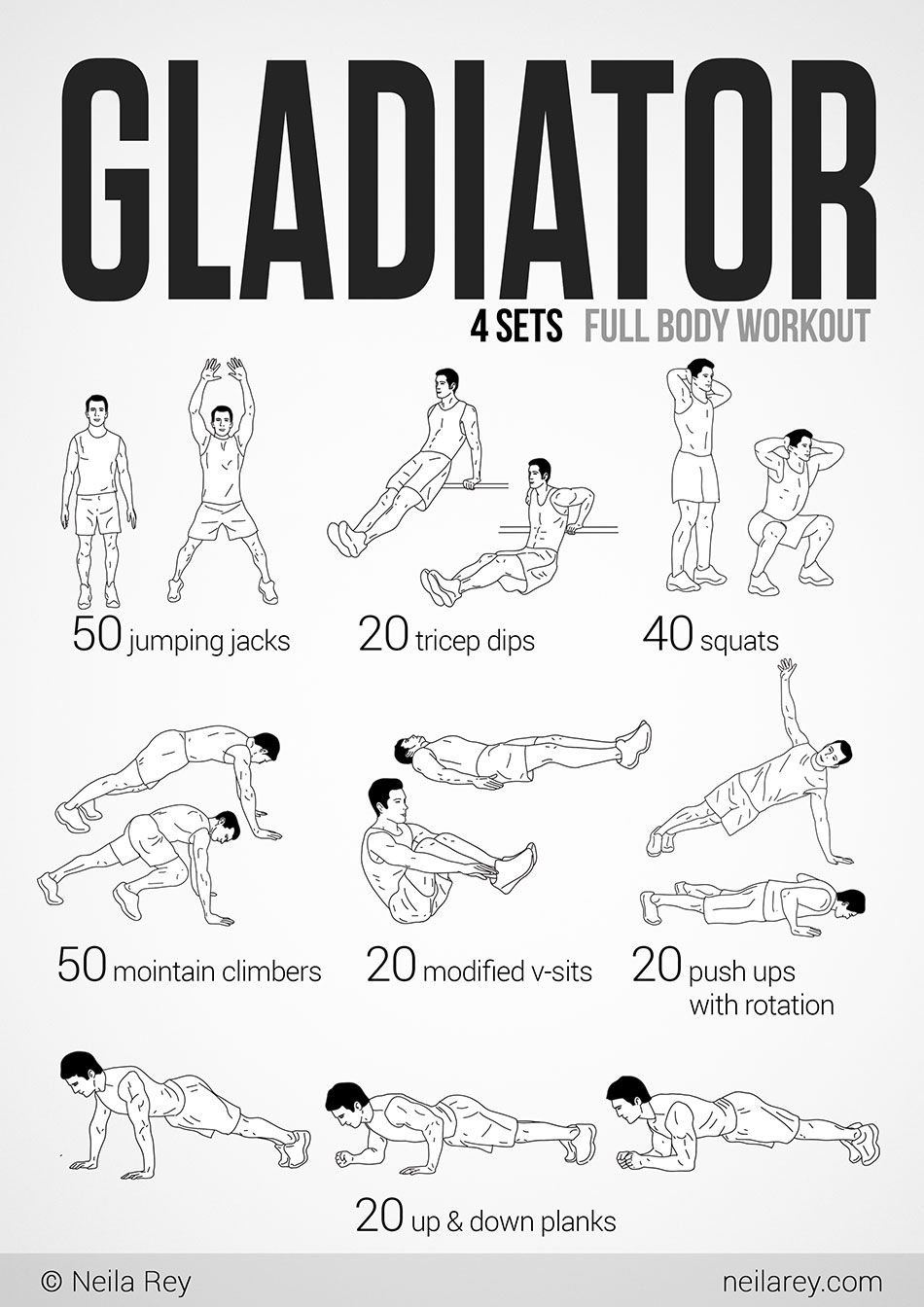 Gladiator Workout   fitness   Pinterest   Health and fitness, Head ...