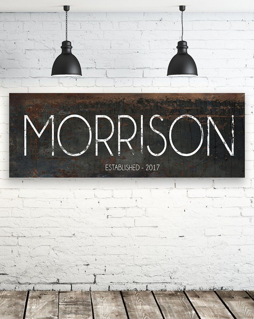 Personalized Family Name Wall Art  Black Modern Last Name Sign is part of Modern Home Accents Wall Art -  Orders are processed from 57 business days after payment is posted  You will then receive a proof in the next 57 days before sending your sign to production  Shipping is ground shipping and can take 714 days once it is processed  ❤❤❤ IMPORTANT ALL ORDERS, placed after November 30th, NO WARRANTY GUARANTEED, that shipment will be delivered by December 24th  ❤❤❤
