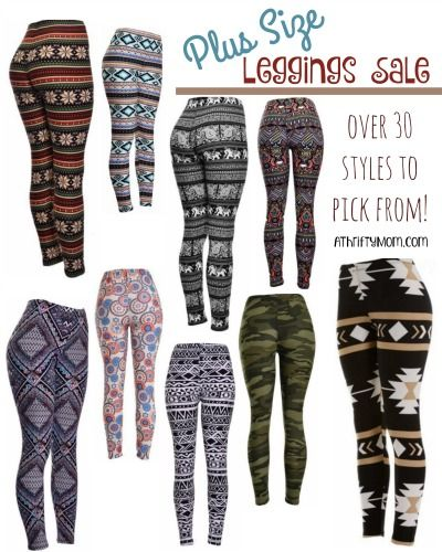 9b8e0521f96 PLUS SIZE Leggings Sale