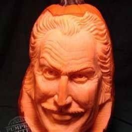 Vincent Price pumpkin