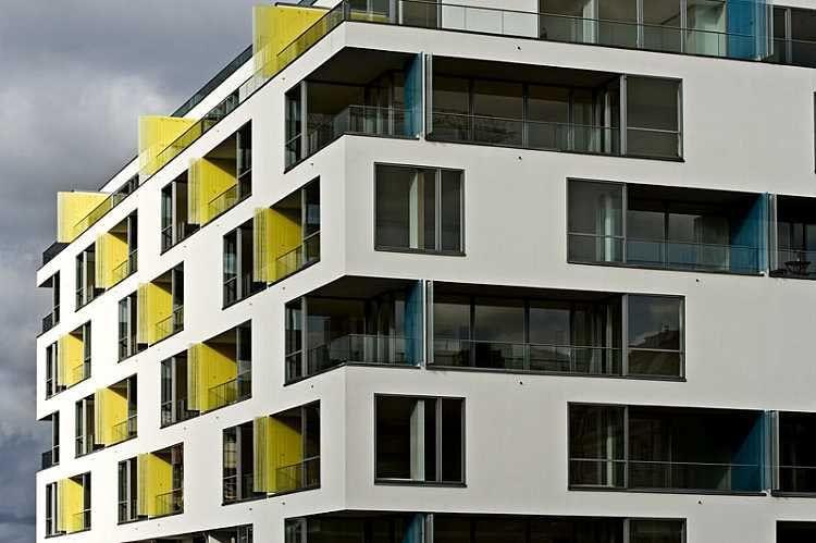 modular apartment buildings - Google Search | Facade design ...