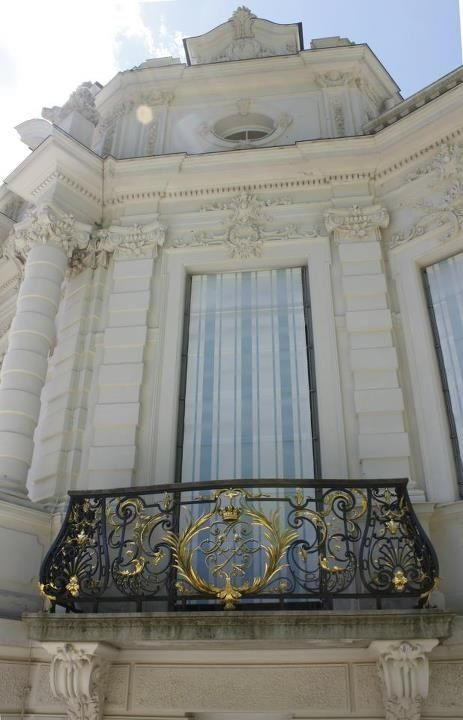 Balcony Of Schloss Linderhof Castle In Bavaria Germany Bayern Deutschland With Images Balcony Grill Design Iron Balcony Arch Architecture