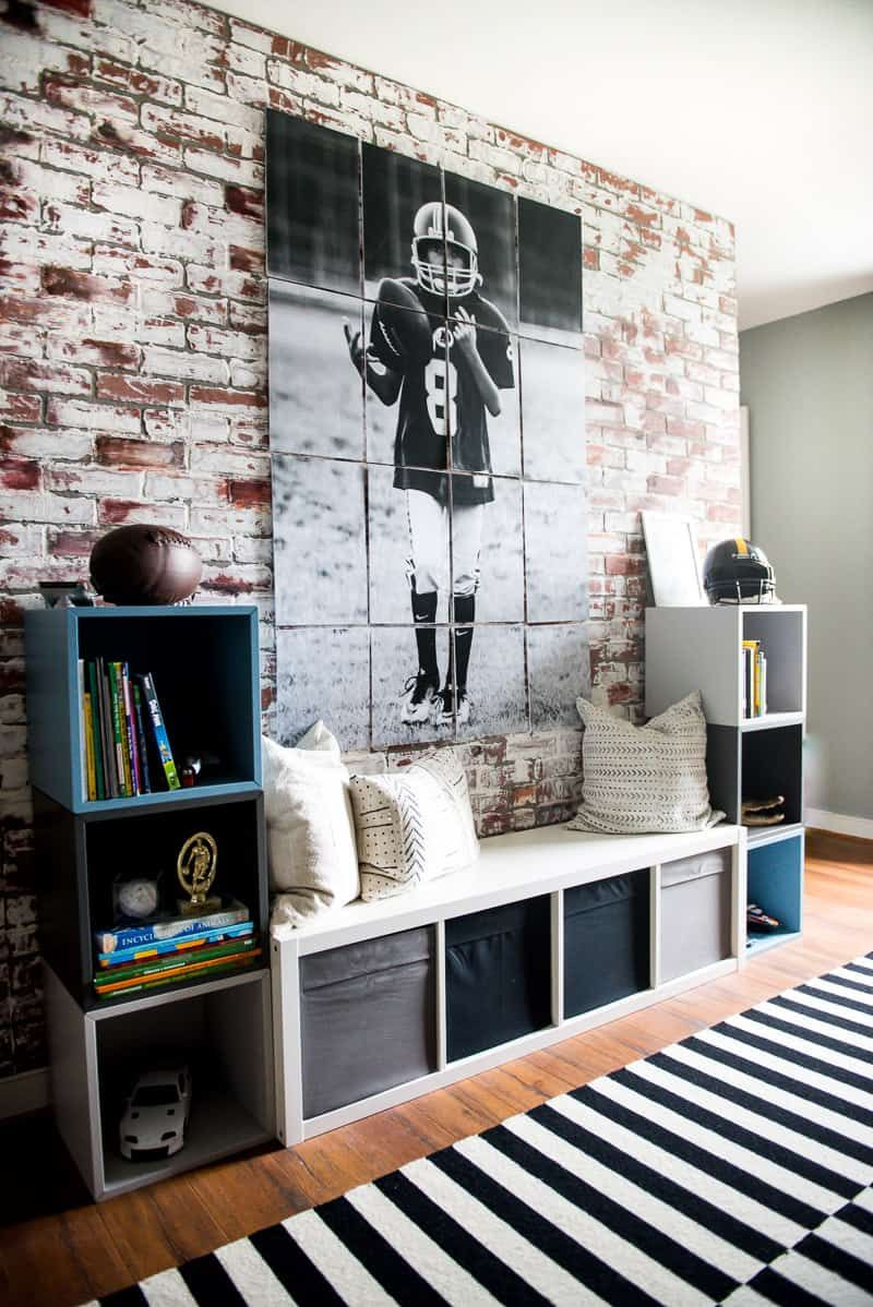 IKEA Big Boy Room Reveal: Modern, masculine and sporty too! images