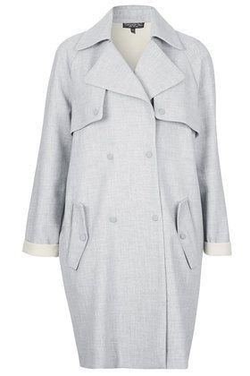 da71ef6cab64 Tall Soft Bonded Trench Coat