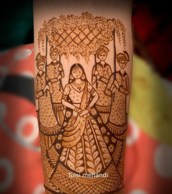 We've Found The Trendiest Mehndi Design For All You 2020 Brides!