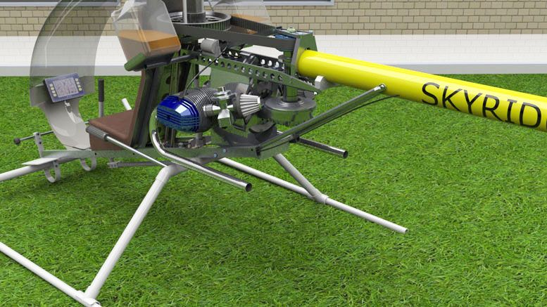 Skyrider Helicopter - Homemade Helicopter Plans | Coaxial