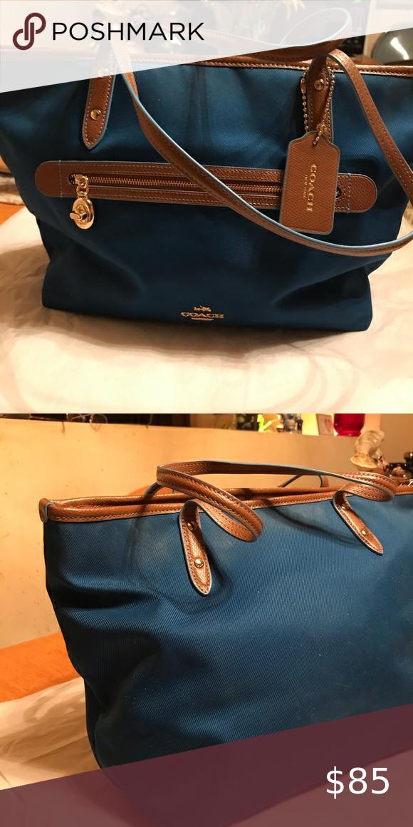 Coach Vinyl Bag In 2020 Vinyl Bag Bags Coach