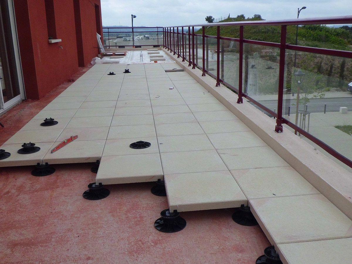 Risultati Immagini Per Toiture Dalles Sur Plot Toiture Terrasse Amenagement Exterieur Toiture