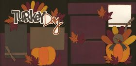 "The ""Out On A Limb Scrapbooking"" Blog: Turkey Day Page Kit"