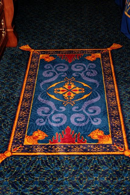 Magic Carpet Put In Front Of The Door At The Entrance