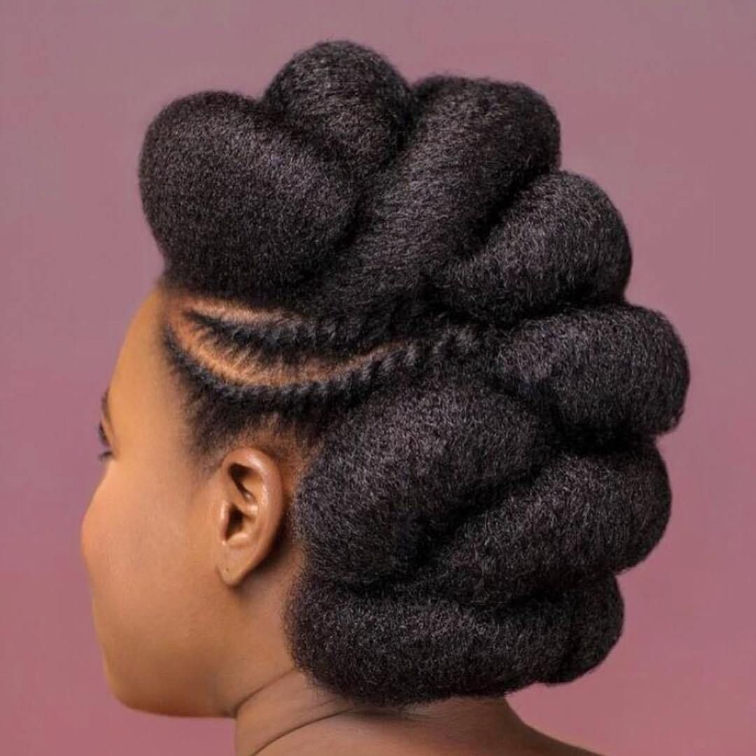Natural Hair #naturalhairupdo
