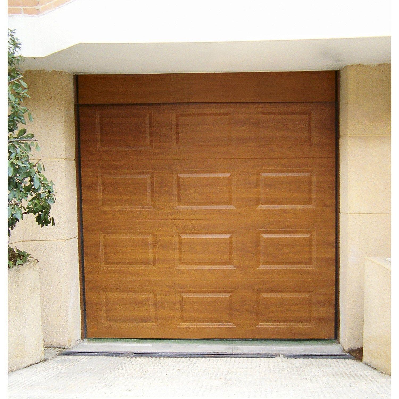 Porte De Garage Sectionnelle Motorisée Artens Essentiel H