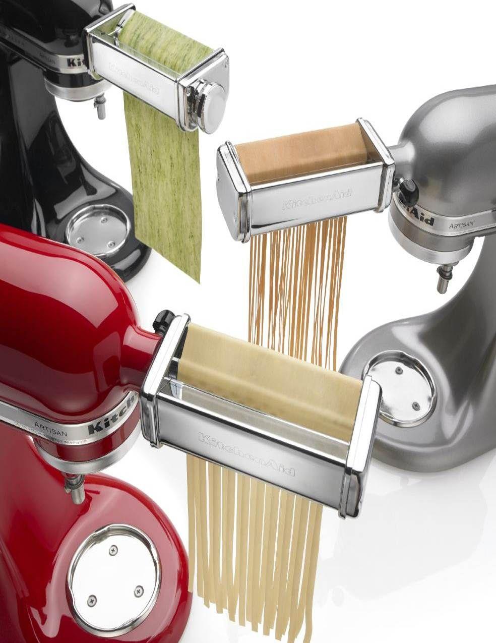 Three Piece Set Includes Pasta Roller Fettucine Cutter