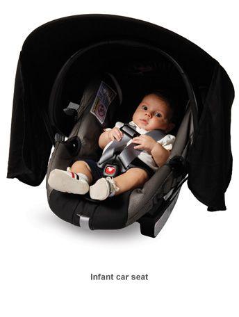 Car Seat Sunshade   Baby stuff I like/want   Pinterest   Car seats