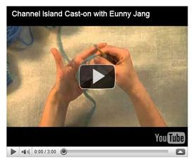 Channel island cast-on