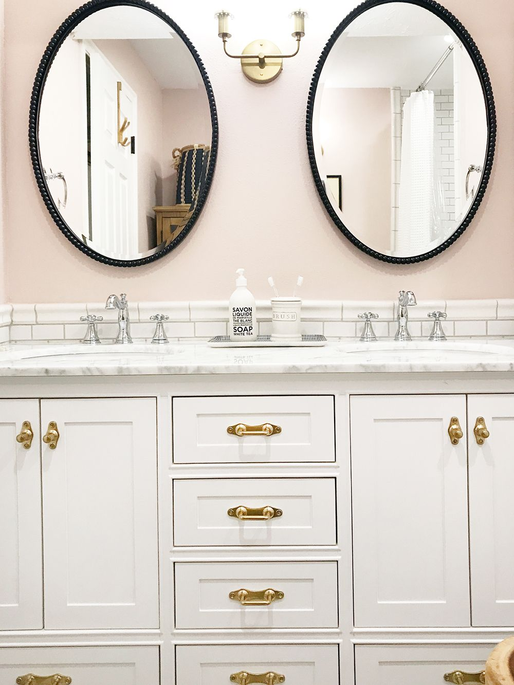 timeless design ae495 aa747 Before And After: The Girls' Bathroom is finished! | Classic ...