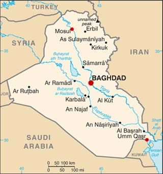 baghdad iraq latitude and longitude baghdad capital city 33 19 n 44 25 e