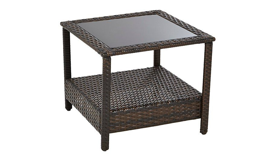 Jakarta 50cm Square Occasional Table Side Coffee Table