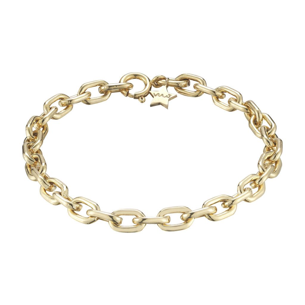 Gold filled chain bracelet gold filled minor obsessions minor