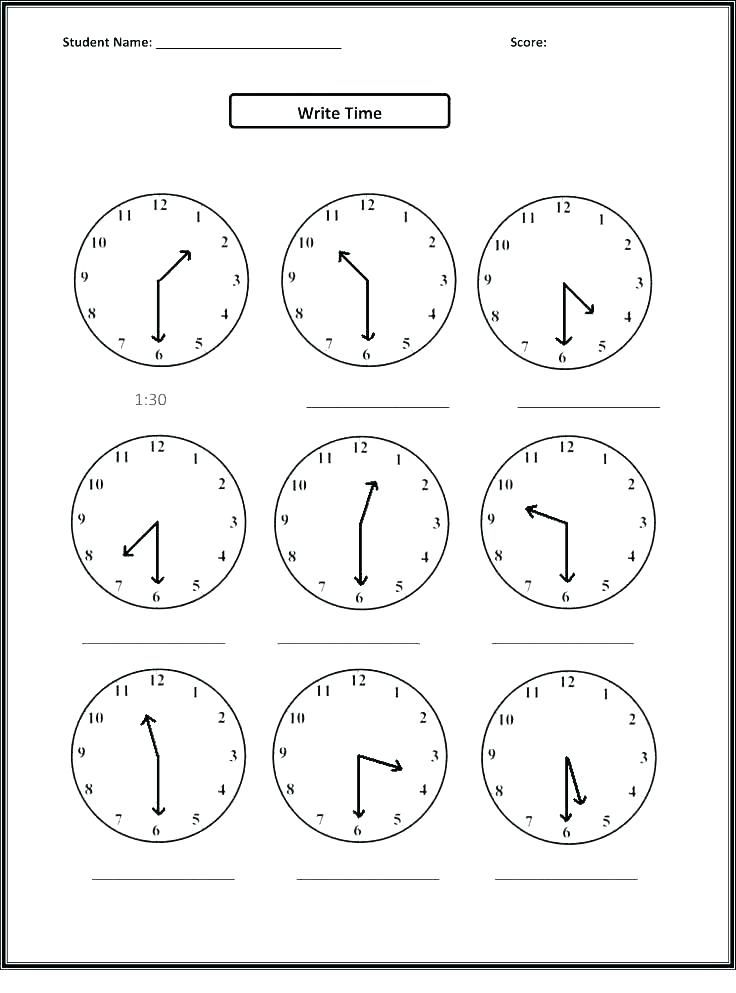 blank clock worksheets time faces excellent preposition ...
