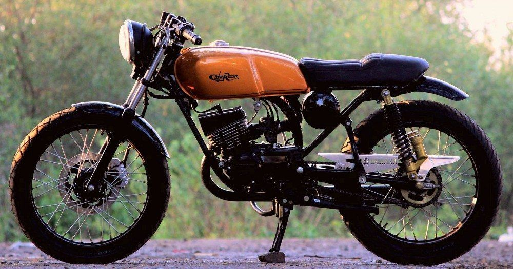Meet Yamaha Rx 100 Sero Cafe Racer By Jedi Customs Motorcycles