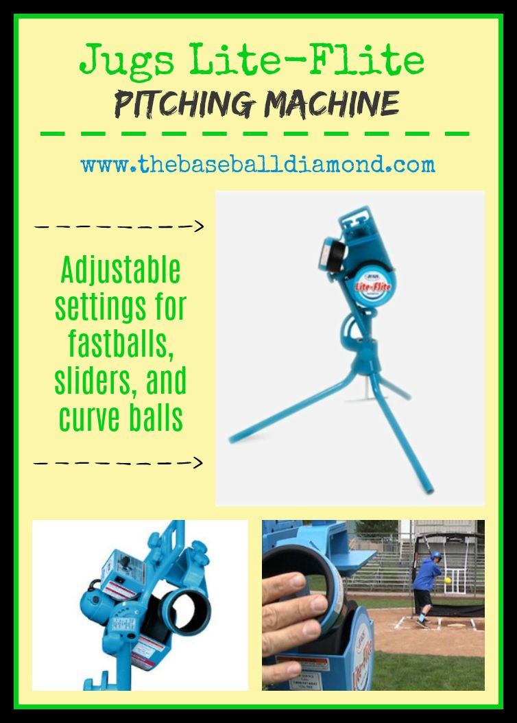 Jugs LiteFlite Pitching Machine Review For Baseball