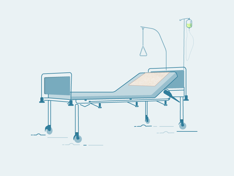 Hospital Bed Hospital Bad Hospital Bed Hospital