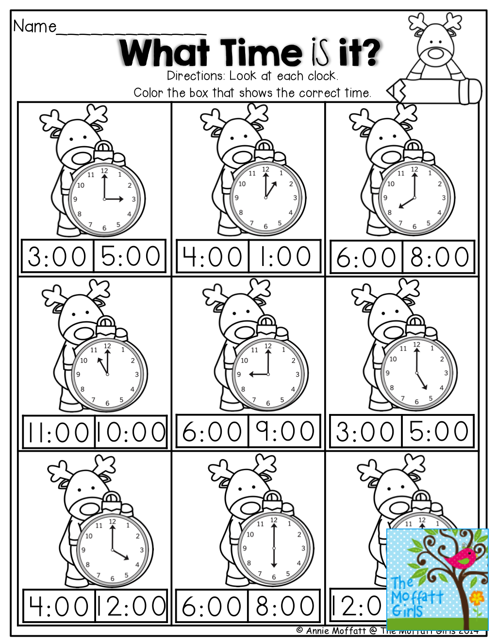 What Time Is It Tons Of Great Printables