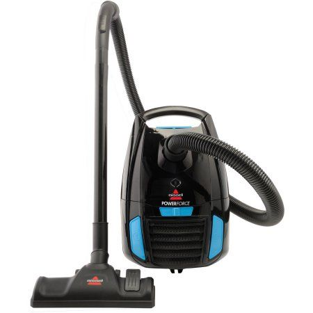 Bissell Powerforce Bagged Canister Vacuum Walmart Com Canister Vacuum Canister Vacuum Cleaner Vacuum Cleaner Reviews