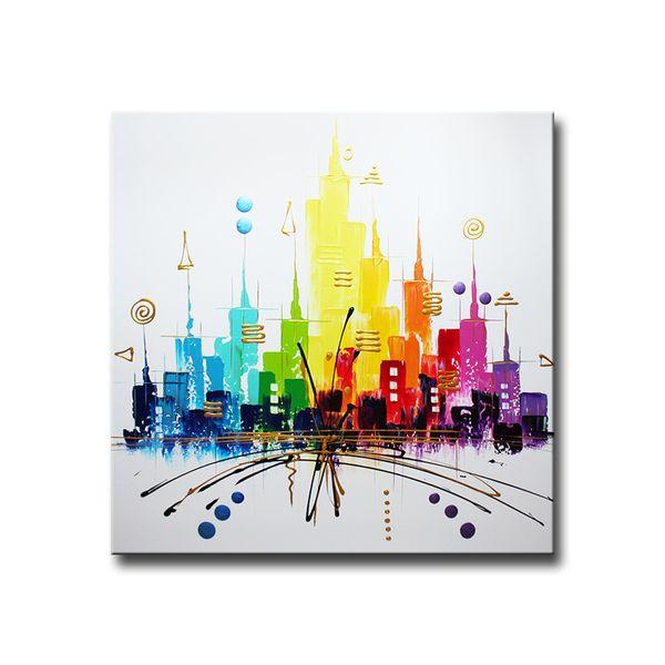 Peintures Acryliques, PEINTURE TABLEAU OEUVRE ART ABSTRAIT SUR TOILE