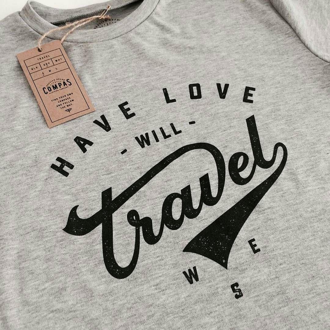 Have Love   Will Travel    -From@spenser_ss & @compasclothing . . . #pixelsurplus #typography #type #dailytype #thedailytype #typelove #typedesign #typematters #typeeverything #travel #inspiration #travel #typespire #apparel #clothing #travelling #design #graphicdesign #designlife #designer #designers #artist #handdrawn #tshirt #handlettering #drawing #art #lettering #draw