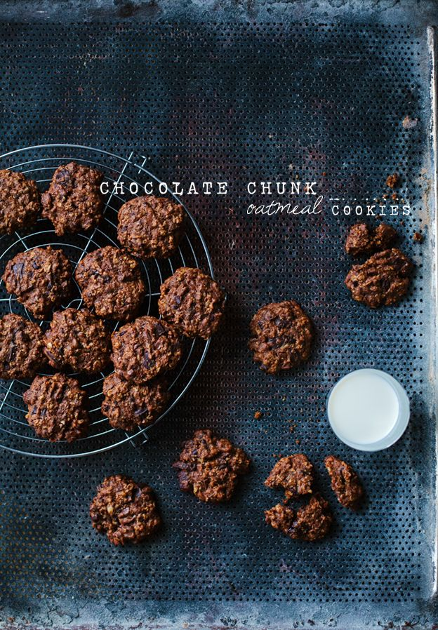 Chocolate chunk oatmeal cookies | Linda Lomelino | Amelia bloggar