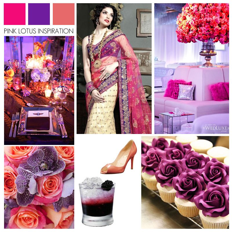 COLOR BOARD: PINK, PURPLE, AND CORAL | Coral color schemes ...