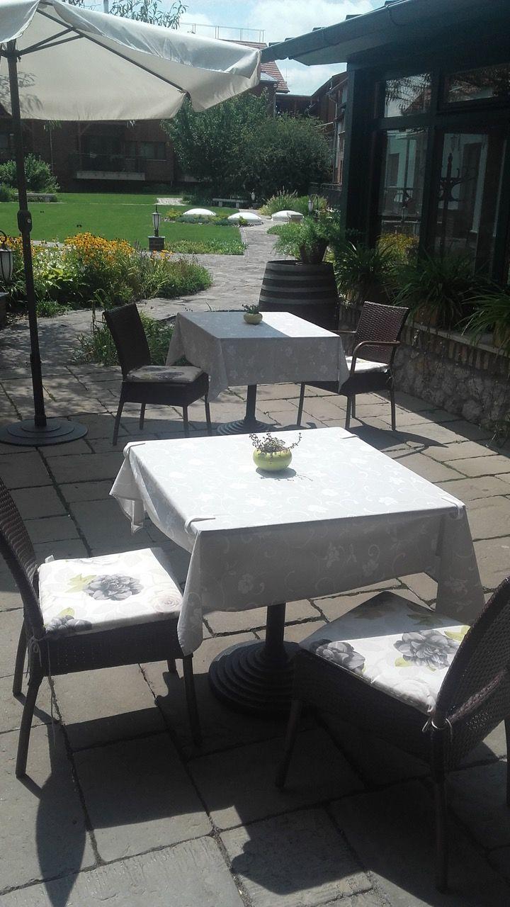 terrassengestaltung, sitzkissen gartenstühle | gartenmöbel, Gartengerate ideen