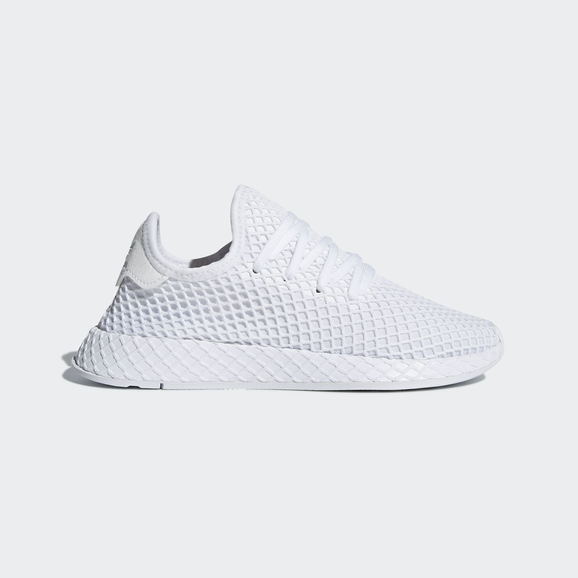 Shop the Deerupt Runner Shoes - White at adidas.com/us! See ...