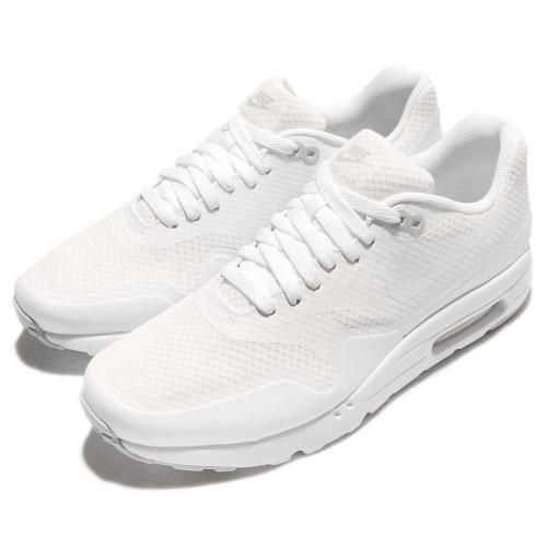 NEW Nike Air Max 1 Ultra Essential Triple White Men Shoes