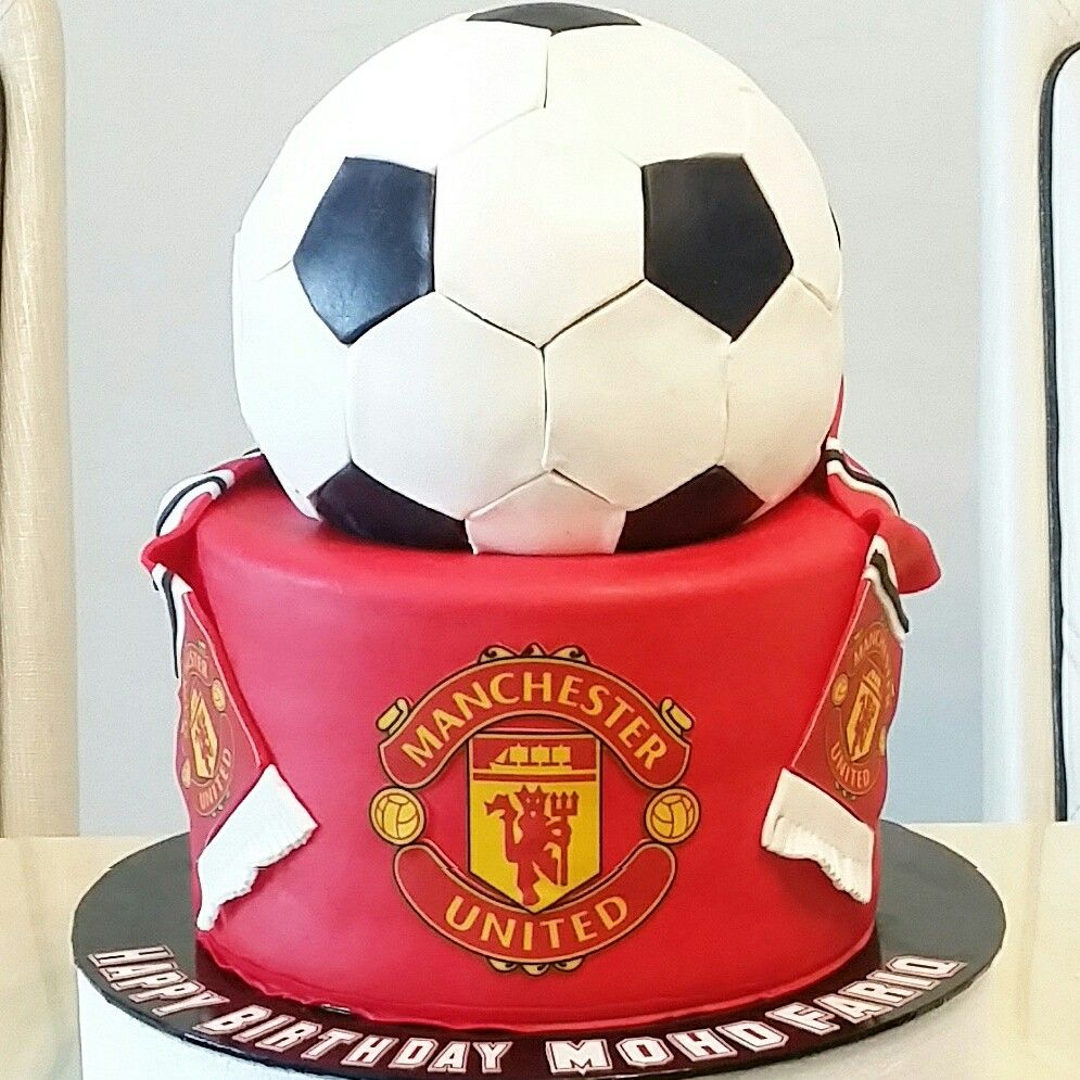 Manchester United Cake Birthday Cakes For Men