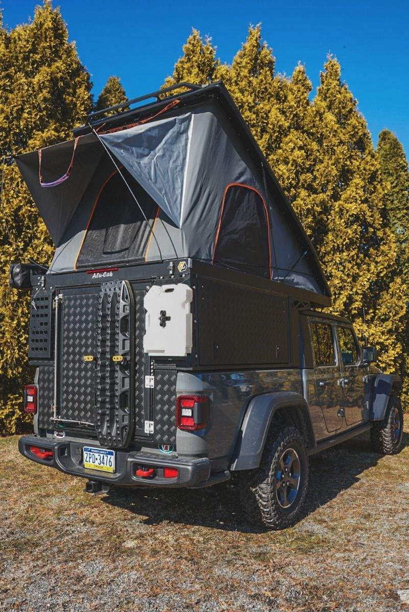 ALUCAB CANOPY CAMPER FOR 2020+ JEEP GLADIATOR Jeep