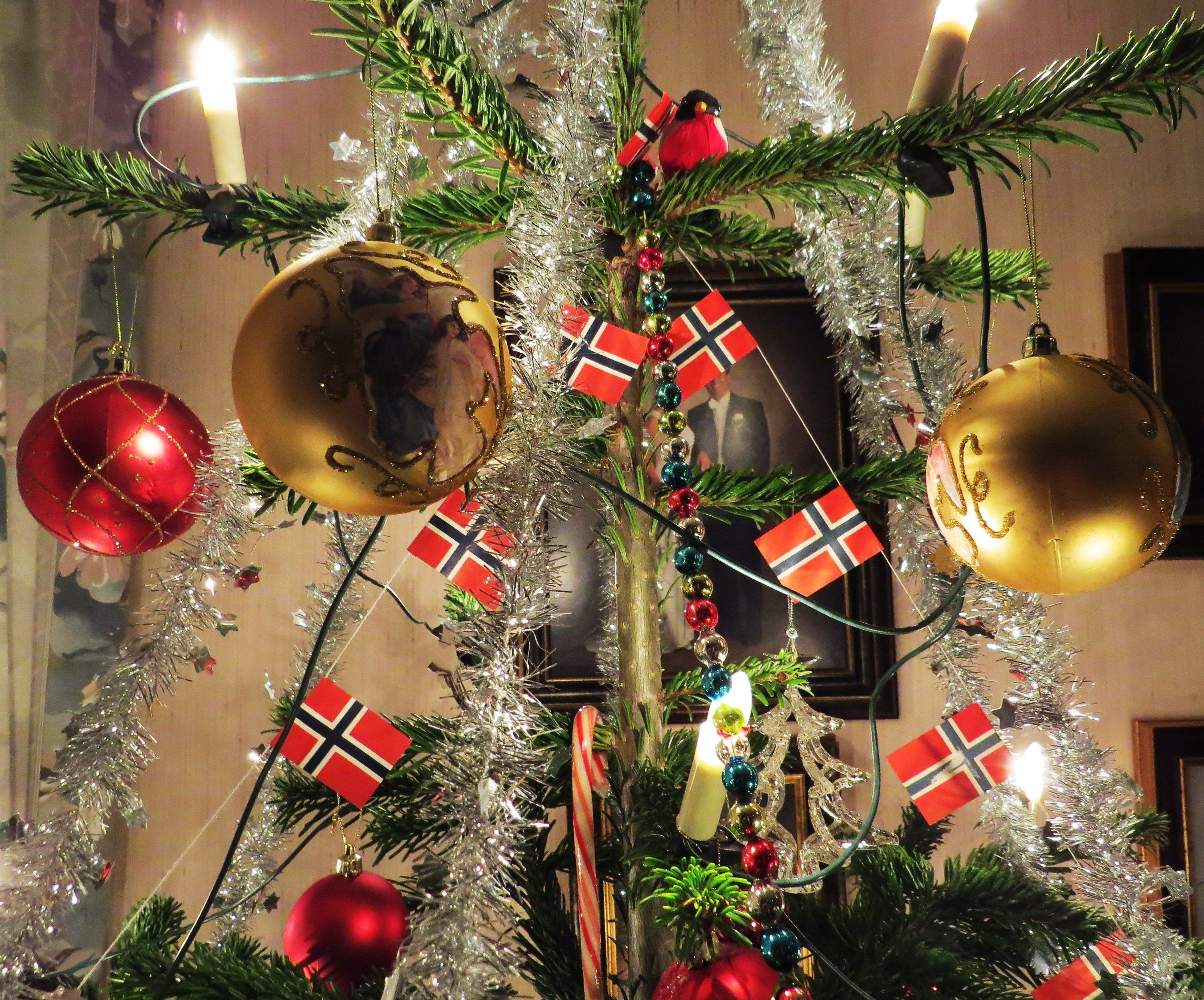 Norwegian christmas tree. | Christmas | Pinterest | Christmas tree