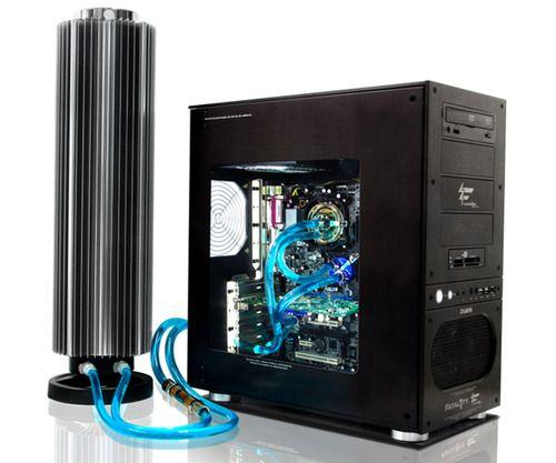 Liquid Cooling System Custom Gaming Computer Custom Computer Computer Setup