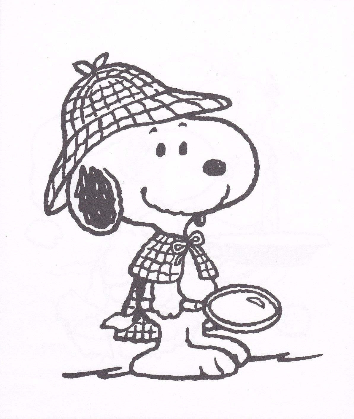 Snoopy-dog-Coloring-Pages-kids-printable-sheets-detective.jpg (1193 ...