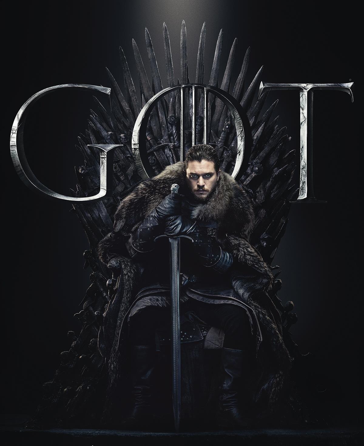 Game Of Thrones Season 8 Jon Snow Poster Game Of Thrones Poster