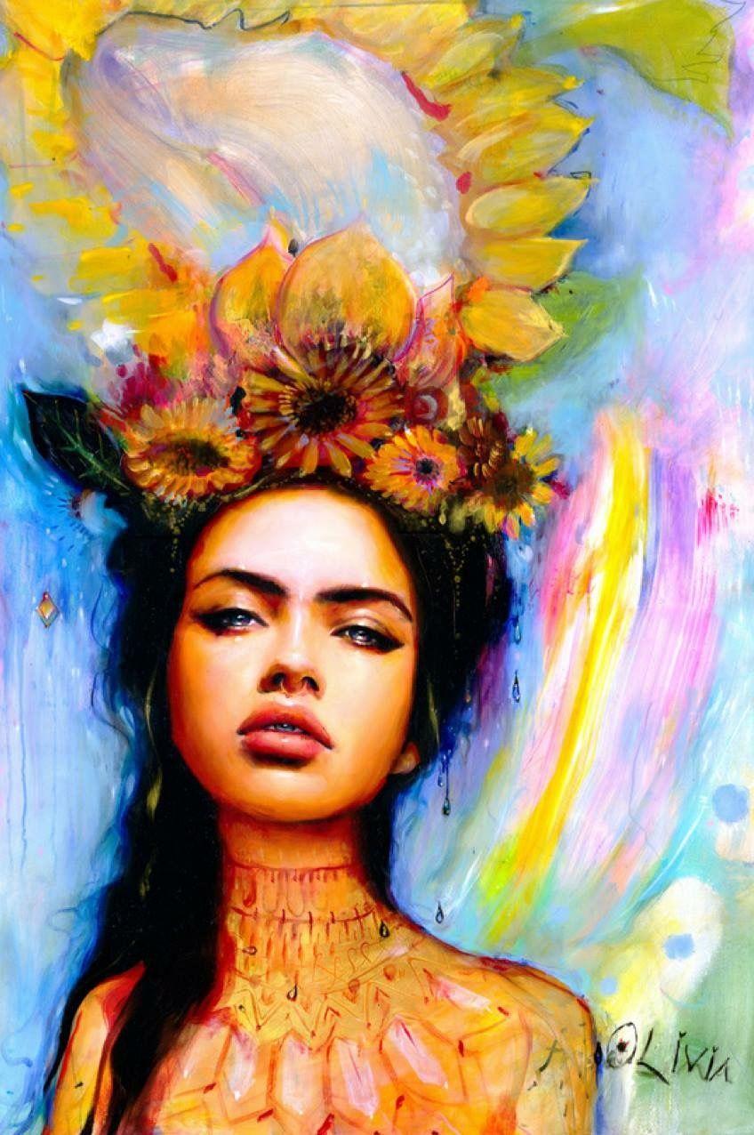 Charmaine Olivia | Art | Art, Painting, Artwork  Charmaine Olivi...