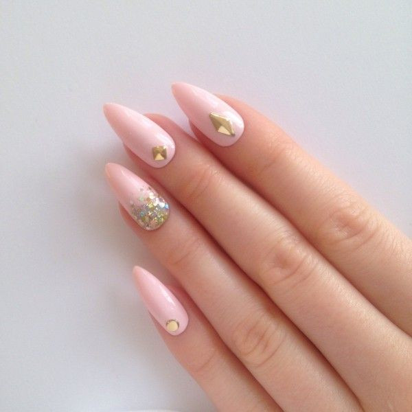 35 stunning pointy nail designs that you want to try pointed 35 stunning pointy nail designs that you want to try prinsesfo Gallery
